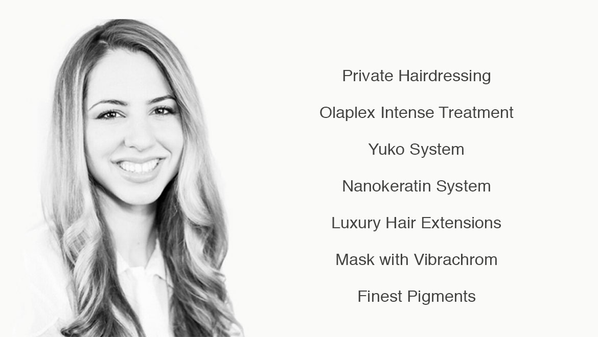 private hairdressing london