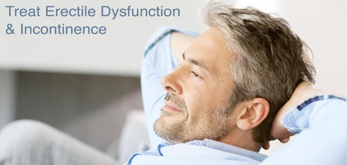 Treat erectile dysfunction and incontinence